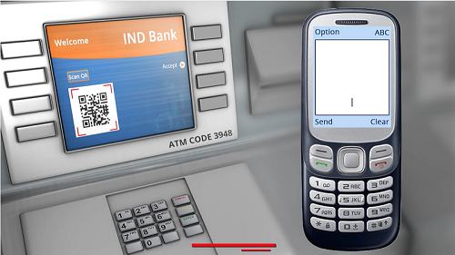 Contactless ATM withdrawal